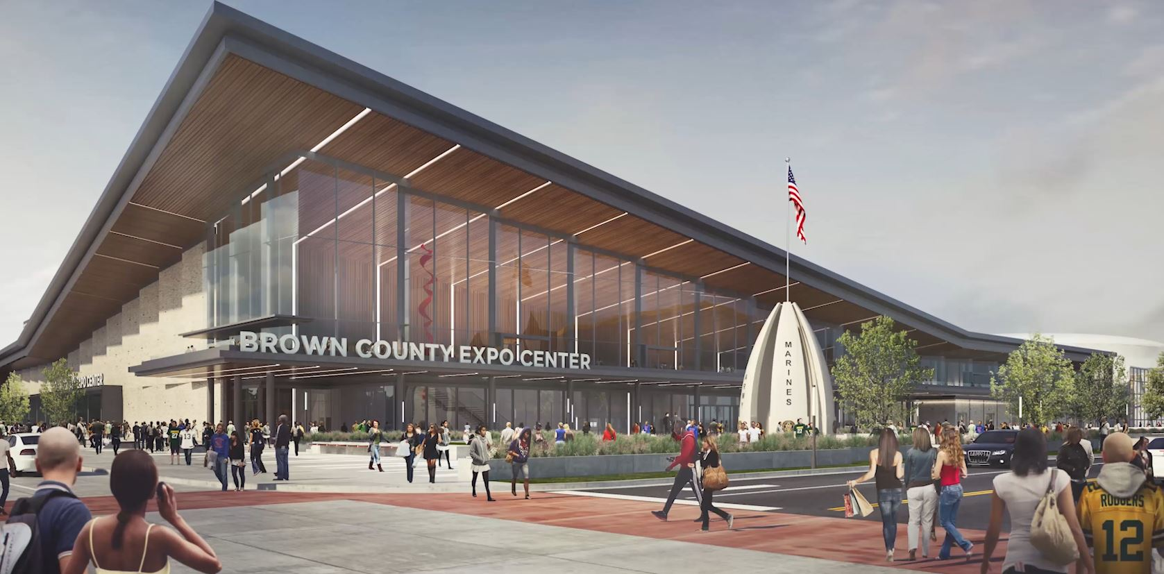 Brown County Expo Center - Veterans' Memorial