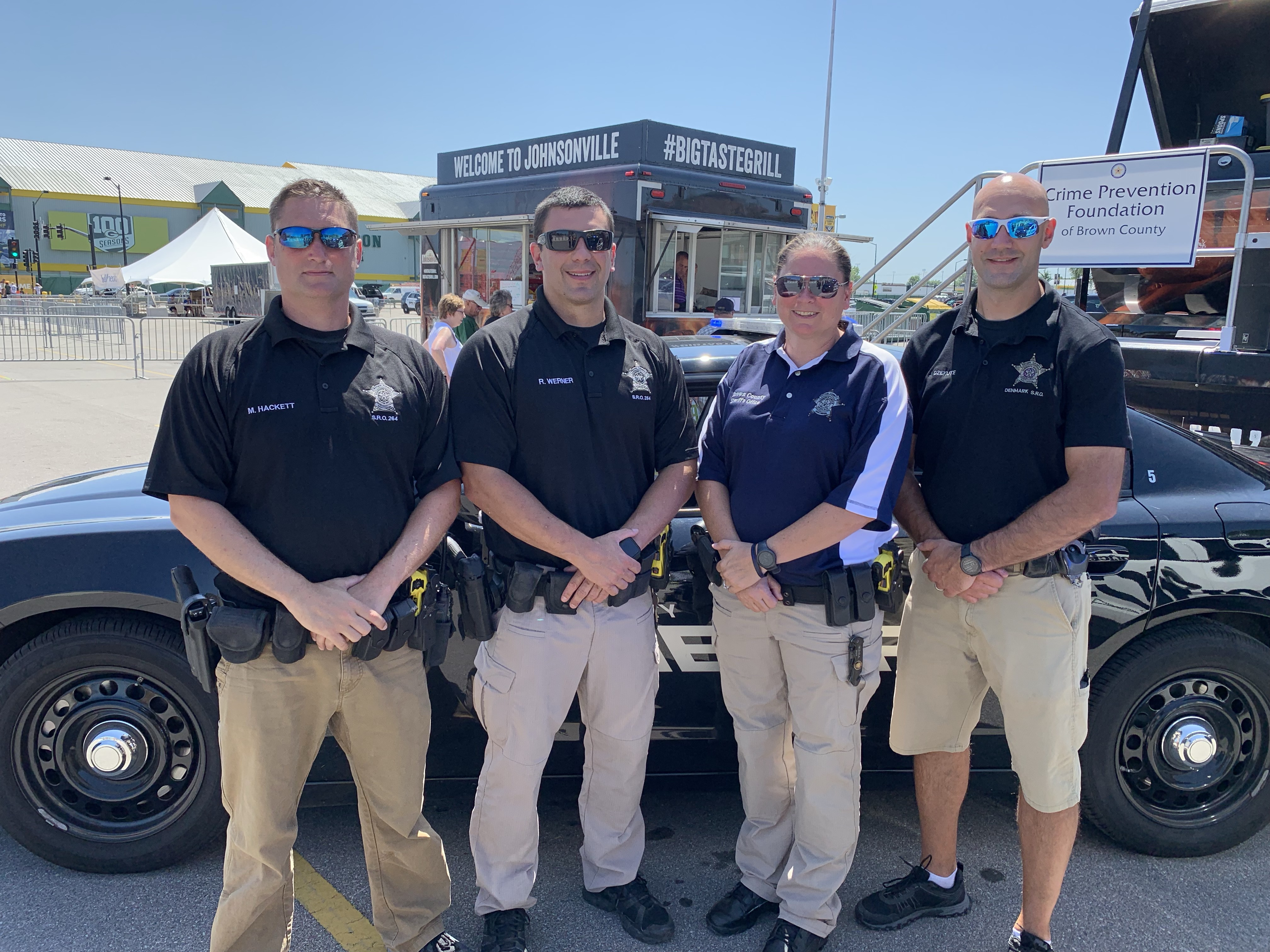 SROs at Lambeau Field for the Brat Fry