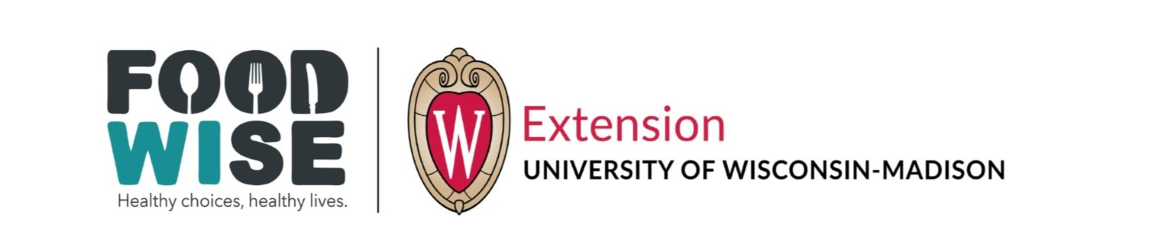 FoodWIse and UW Madison Extension Logo
