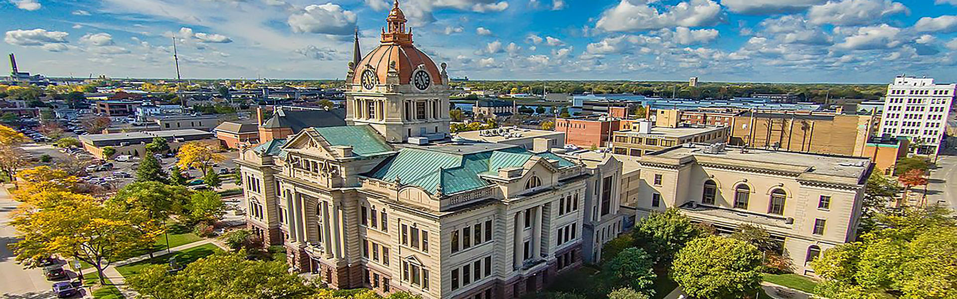 Brown County Courthouse Aerial