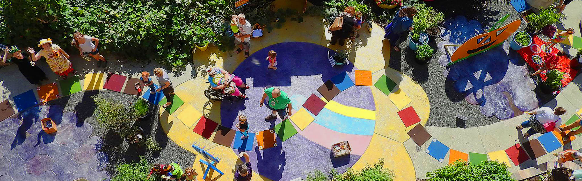 Overhead View Looking Down on Children's Edible