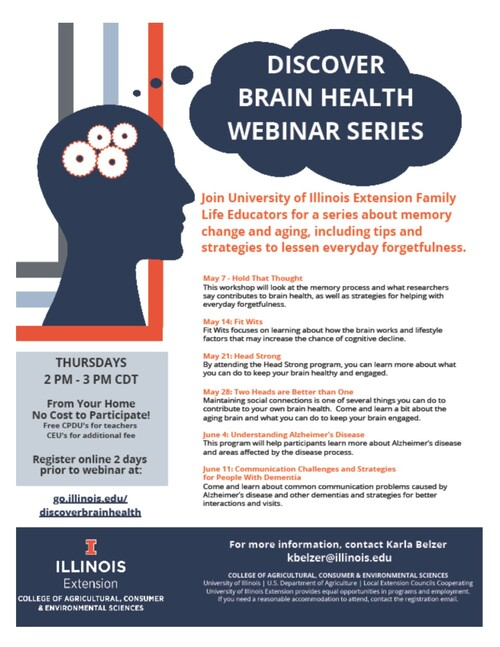 Brain Health Flyer