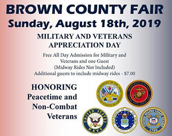 Military and Veterans Appreciation Day Flyer